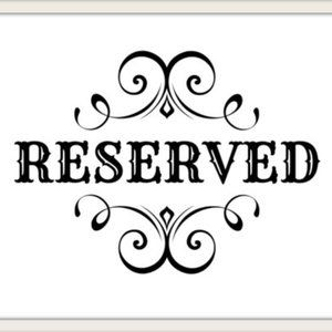RESERVED Two 18 inch box link chains